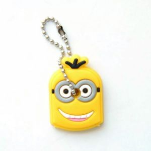 Accessories - Cute! Minion Despicable Me PVC Rubber Keychain